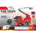 Remote Control Kids Toy Rescue Fire Engine Truck with light and sound