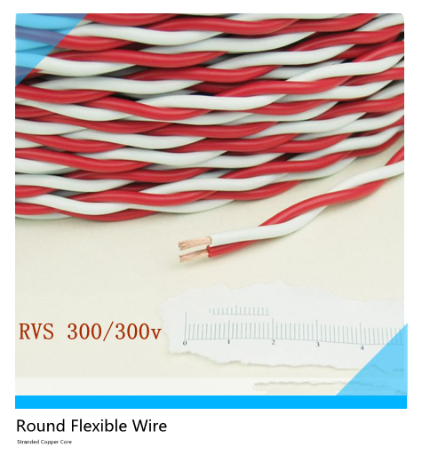 Twisted Pair Connecting Electrical wire size flexible metal wire Copper used make High quality electrical flexible wires