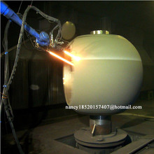 thermal spraying hot melt equipment for zinc aluminum metal wire