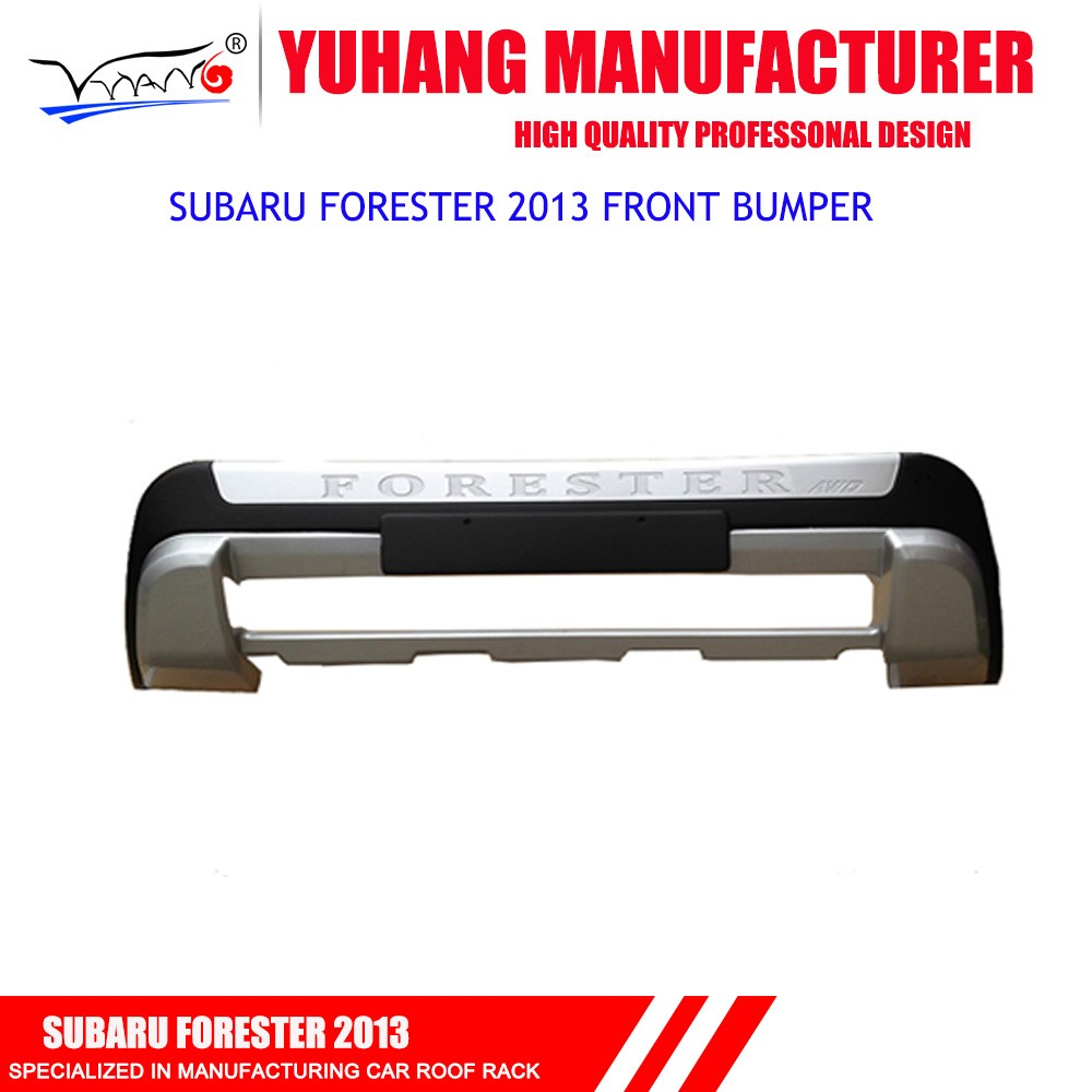 Forester2013 front bumper guard