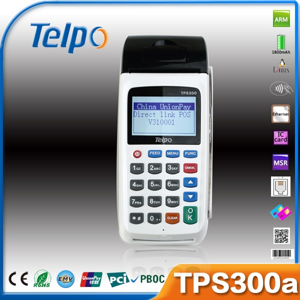 Telpo OEM New Product TPS300A Bluetooth Mobile Thermal Printer for MSR POS Devices