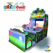 video arcade shooting game machine kids coin operated game machine