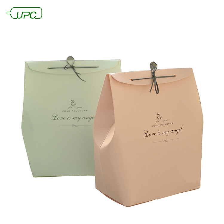 OEM Recycle Unique Flat Bottom Tuck End House Paper Carton Gift Packaging Gable Box