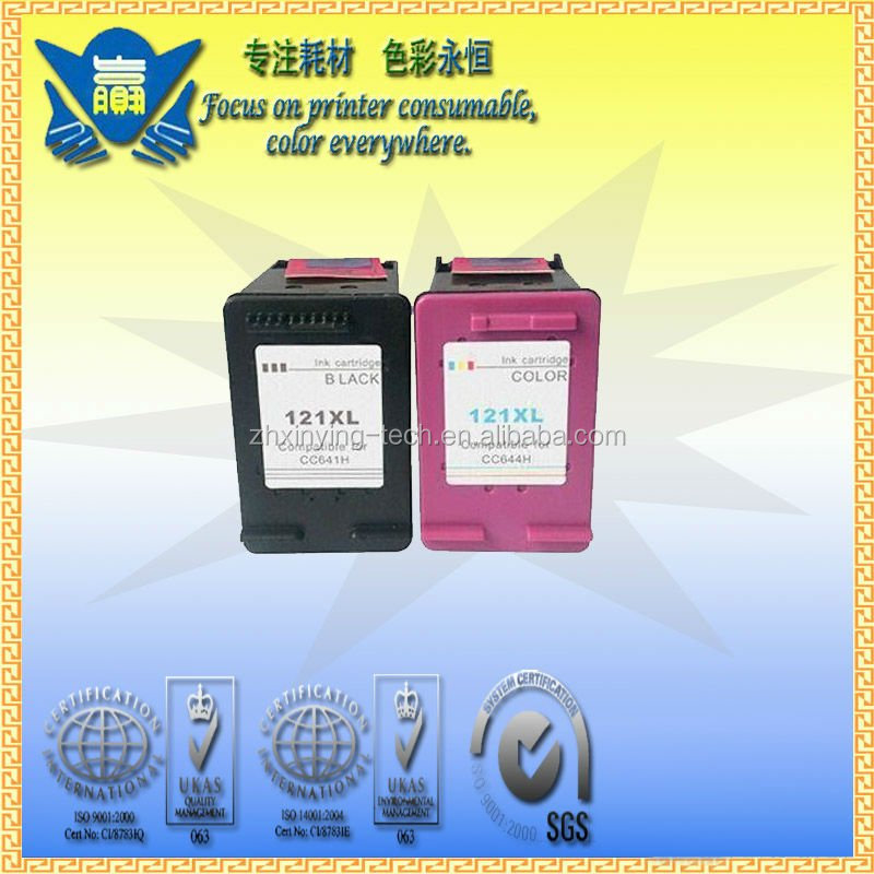 Remanufactured ink cartridge for HP 121 printer