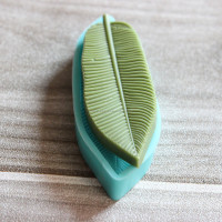 Leaf Shape Cake Mold Silicone , DIY New Cookie Soap Mould, 3D Silicone Mmolds For Soap Making