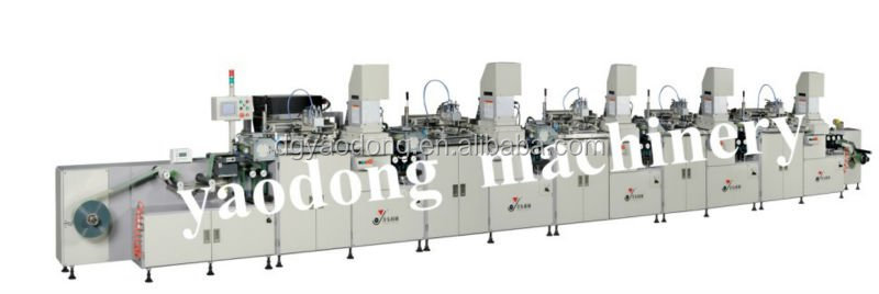 multifunction roll to roll silk screen printer producer