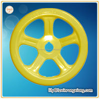 Cast iron steering wheel with high quality