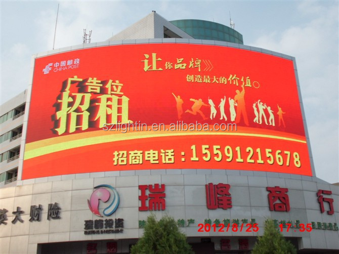 Outdoor P10 Full Color Video LED Display for Advertising Screen indoor P4 P5 P6 P8 P10 outdoor P8 P10 P12 P16 P20 P25 P31.35 LED