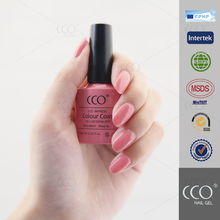 CCO peel off shimmer gel manufacturer supplies hight quality shinning nail salon professional gold sand nail polish gel
