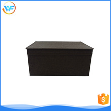 Cloth storage custom collapsible fabric storage boxes with lid