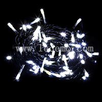 decoration light Christmas led PVC wire string light