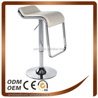 PVC Bar Stool with Metal Base (YOC-9207)