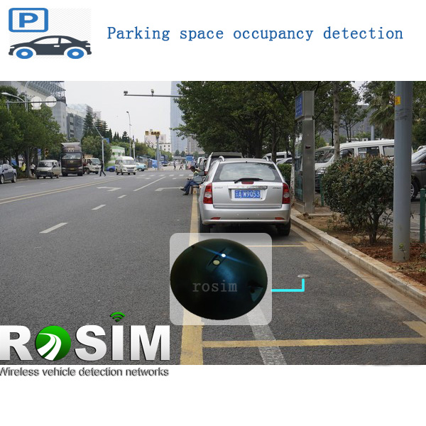 Rosim street parking lot occupancy sensor for paking guidance system
