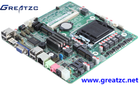 ZC-H61D6C VGA LVDS Double Display MINI ITX Motherboard With LGA 1155 Scoket, H61 Chipset Motherboard With 6 COM, Board With 9USB