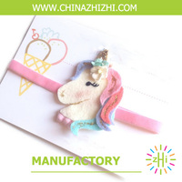 Factory price professional Fashion Cute Unicorn hair clips hairgrips Kids Hair Accessories From China Shanghai