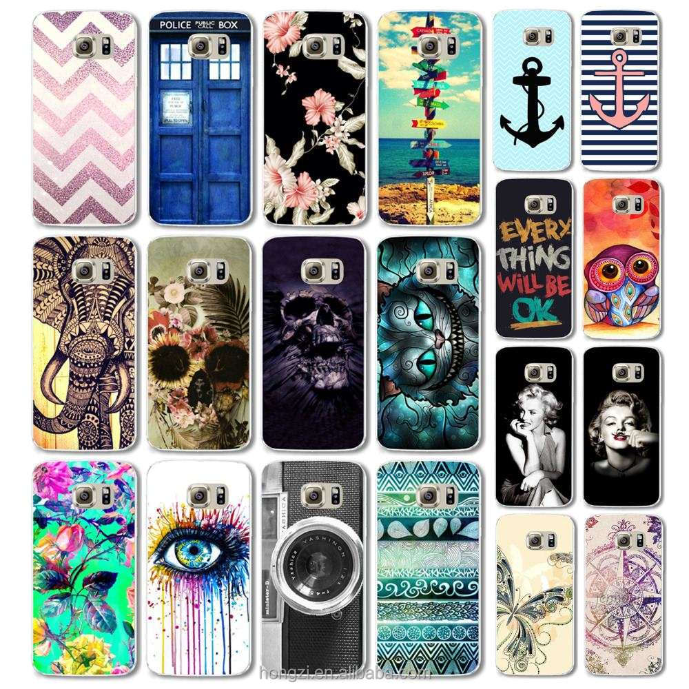 Case for Samsung Galay S6 edge s7 s7edge Phone Cases Cover Cute Animal Colorful Retro Cartoon Plastic Flip marilyn monroe
