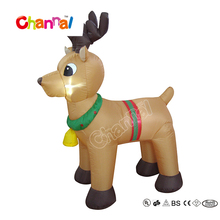 Inflatable Unique Outdoor Christmas Reindeer Lights for Party Decoration Christmas