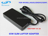 65W Slim Universal laptop Adapter