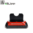 Top Spplier hdd docking station Dual Hard Disk Drive Base for 2.5 Inch 3.5 IDE/SATA USB 2.0