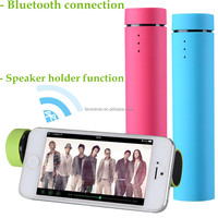 High quality customize oem logo bluetooth portable mini USB speaker with phone stand