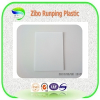 1.5mm to 6.5mm recycling material plastic sign board,can be printing as customer design