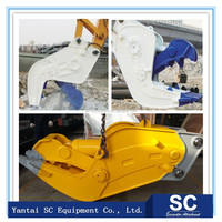 Demolition shear excavator concrete rock crusher with good price