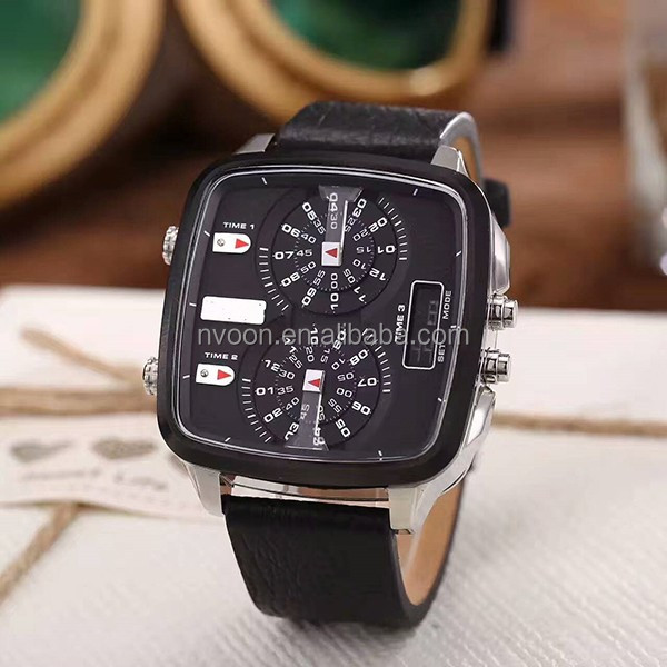 Original Brand Three Eyes Quartz Watches Cool Men Business Watches Manufacturer Supplier Facoty