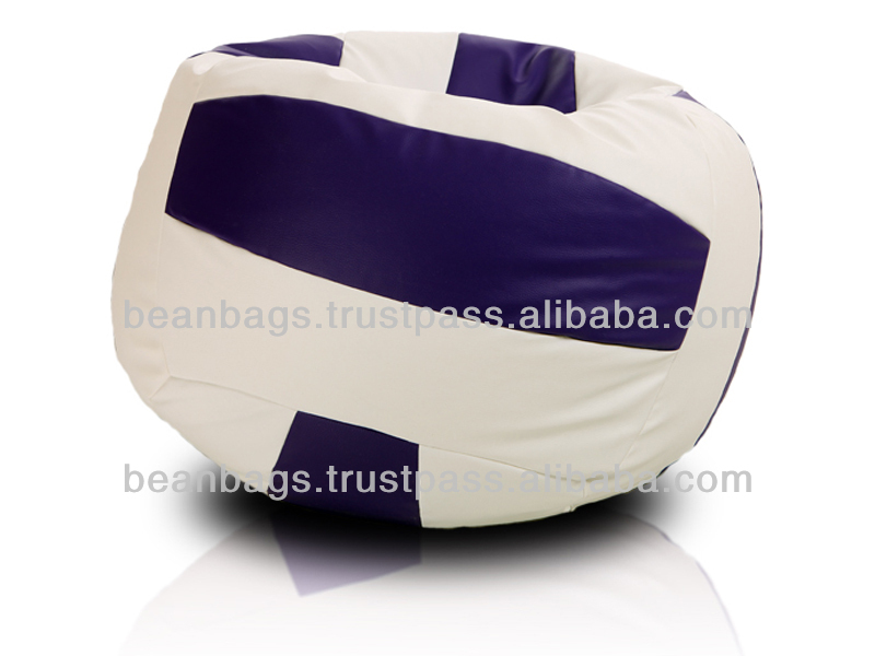 Fashion football bean bag chair