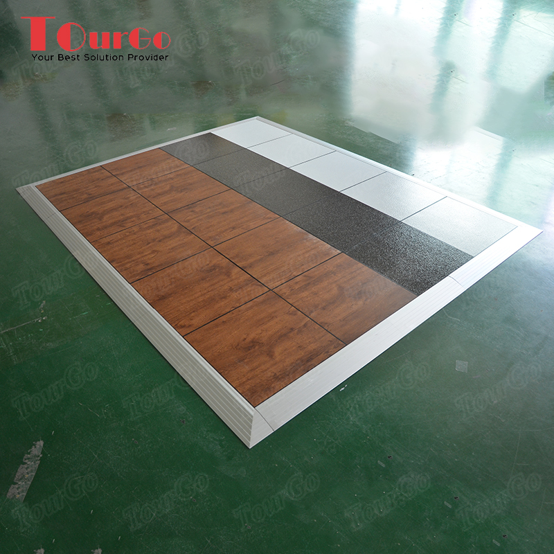 Tourgo Portable Cheap Plastic Flooring Sheet Pvc Dance Floor With Good Price