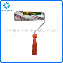 Plastic Handle Designer Paint Rollers Wall Brush