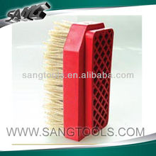 good quality grinding brush,diamond brush grinding granite, marble and other stones