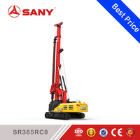 SANY SR385RC8 150 ton Crawler Rock Concret Rotary Drilling Rig Machine with CE Certification