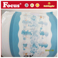 Colored printed as your require the PE plastic film adult diaper baby diaper use