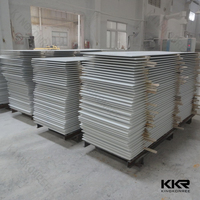 KKR 15 year experience faux marble solid surface artificial stone veining