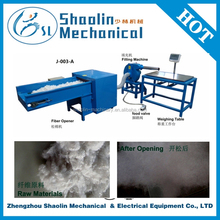 Best selling double doffer fiber carding machine price