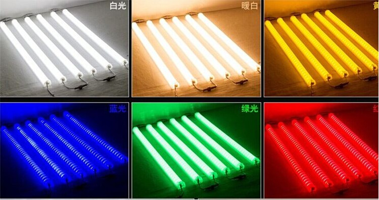 16 pixel DMX RGB led baluster light for video