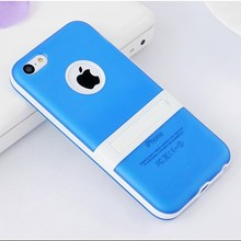top quality dual color PC TPU hybrid case for Iphone 5c