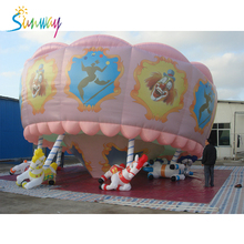 2017 High Quality Inflatable Animal Model , Giant Inflatable Horse For Advertising