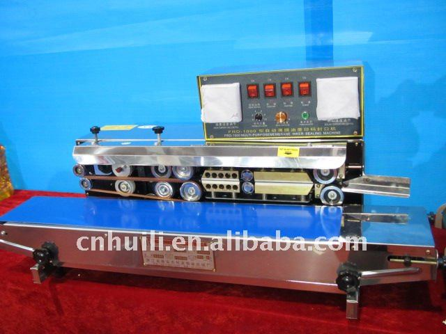 low price durable Automatic Continuous Band Sealer With Solid-ink coding function