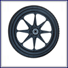 solid wheel barrow tire flat free pu foam wheel for Dollies