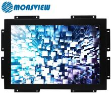 22 inch high brightness sunlight readable industrial monitor for advertising kiosk