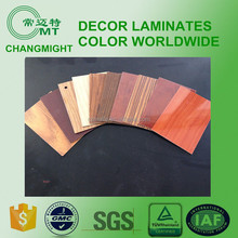HPL/1220*2440 formica laminated sheet/wooden laminate/melamine board
