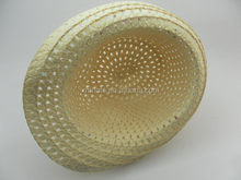 Professional manufacturer promotional new coming children paper straw hat