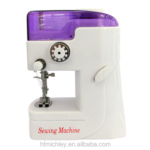 as seen on tv mini portable easy stitch sewing machine FHSM-988 with battery operated
