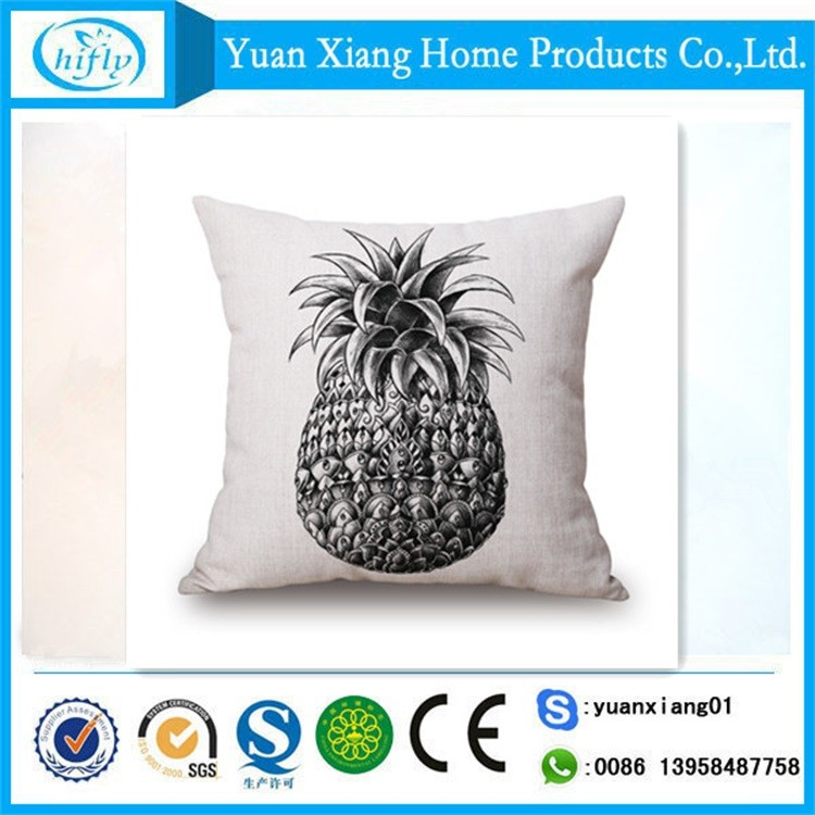 Modern home textile cushions home decor pillow 50*50 for sofa