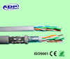 4pairs 24awg 0.5mm cat5e lan cable ftp cable