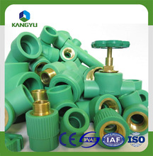 DIN8077 standard ppr names pipe fittings Linyi factory price list