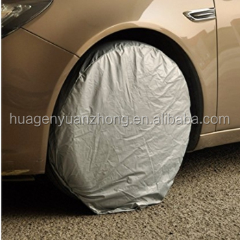 4pcs Car Auto Wheel Tire Tyre Protector Cover Waterproof Weatherproof Dust Proof