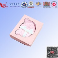 Fancy china factory customized design paper gift box for sale baby clothes