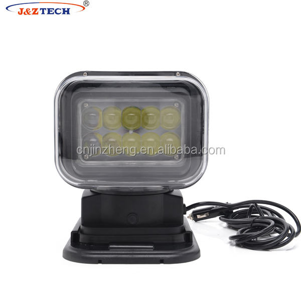 LED SEARCH LIGHT WITH WIRELESS CONTROLLER